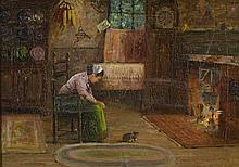 EDWARD A. PAGE OIL ON CANVAS (Massachusetts, 1850-