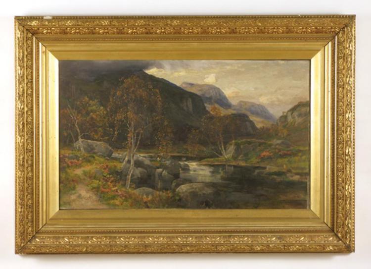 GEORGE GRAY OIL ON CANVAS (British, 1880-1943) Sco
