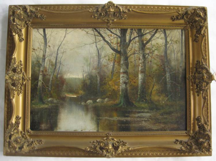 FRANK P. FREYBURG OIL ON CANVAS (United Kingdom, 1
