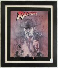 RAIDERS OF THE LOST ARK AUTOGRAPHED POSTER, signed
