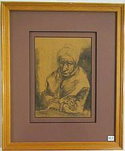 JEFFERSON TESTER GRAPHITE ON PAPER (New York/Tenne