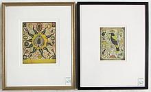 TWO TONY FITZPATRICK (ILLINOIS, B. 1958) AQUATINT