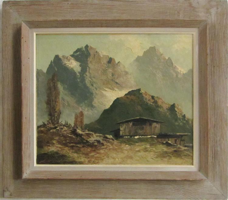 GEORG ARNOLD-GRABONE OIL ON CANVAS (Germany, 1896-