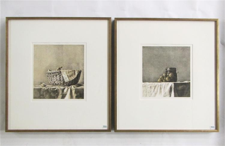 FRANCESCO SALTARA, TWO LITHOGRAPHS (Italy, born 19