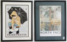 DAVID LANCE GOINES, TWO LITHOGRAPH POSTERS (Califo