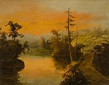 ATTRIBUTED TO WILLIAM SAMUEL PARROTT OIL ON CANVAS
