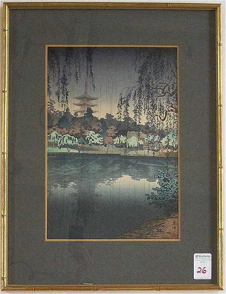 TSUCHIYA KOITSU COLOR WOODCUT (Japanese,