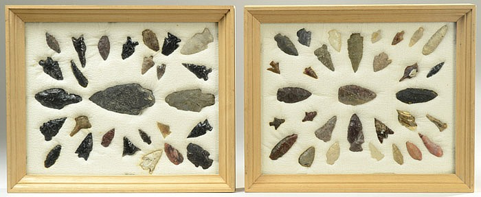 NATIVE AMERICAN INDIAN HUNTING POINTS,