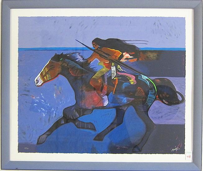JOHN W. NIETO SERIGRAPH (American, born 1936)