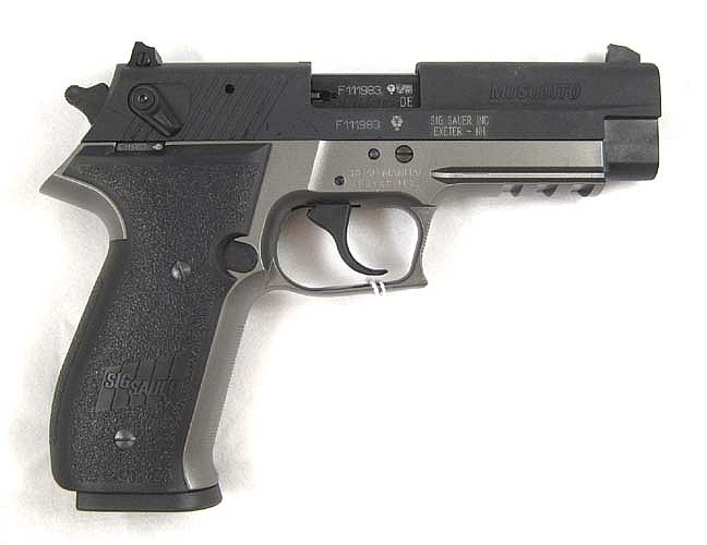 SIG SAUER MOSQUITO DOUBLE ACTION SEMI AUTOMATIC