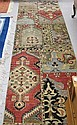 HAND KNOTTED ORIENTAL RUNNER, Indo-Persian, random