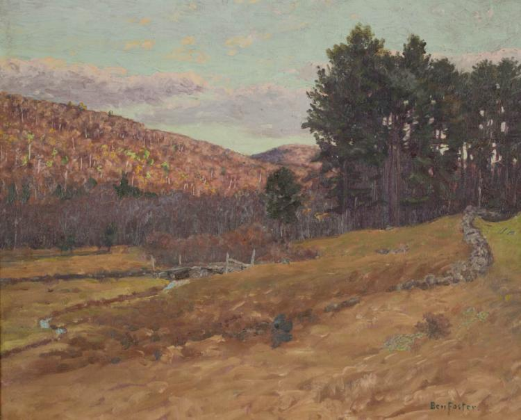 BENJAMIN FOSTER OIL ON CANVAS (Connecticut/New Yor