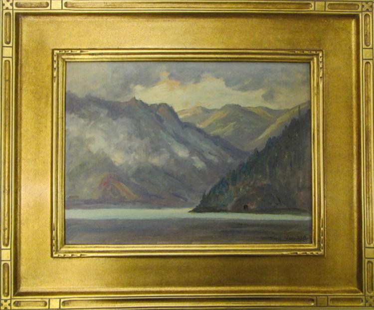 CLYDE LEON KELLER (Portland, Oregon 1872-1962) Oil