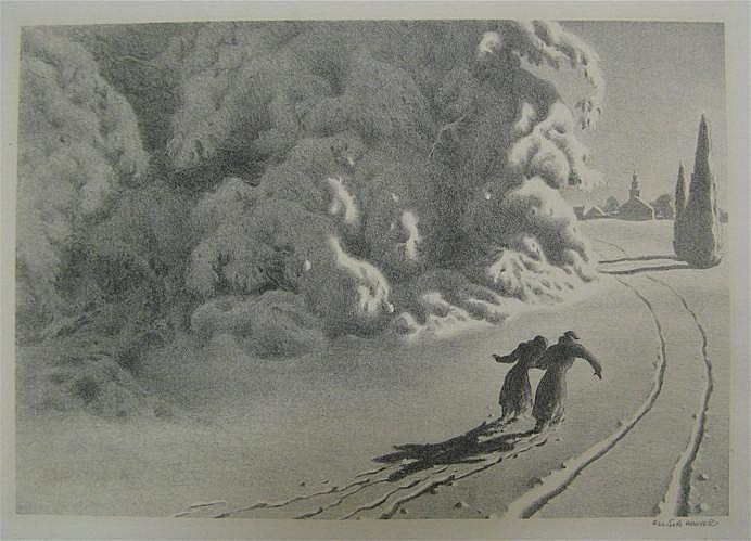 ELLISON HOOVER (New York, 1888-1955) Lithograph