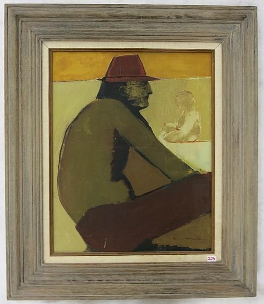 Margaret Coe Oil On Canvas Eugene Oregon 20th C