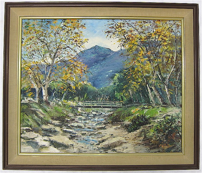 WILFRID TAYLOR MILLS (California, 1912-1988) OIL