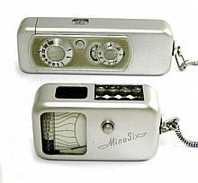 SPY CAMERA AND LIGHT METER: German Minox Wetzlar