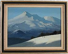 GEOFFREY LEWIS OIL ON BOARD (California, 20th