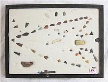 COLLECTION OF APPROXIMATELY 72 ARROW HEADS, POINTS