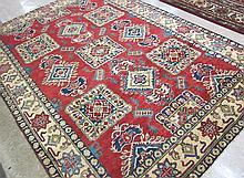 HAND KNOTTED ORIENTAL CARPET, Pakistani-Caucasian,