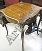 LOUIS XV STYLE LAMP TABLE, American, early 20th