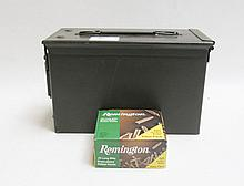SIX BOXES OF REMINGTON AMMUNITION, 22 long rifle
