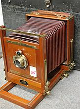 EASTMAN VIEW NO. 2 CAMERA WITH TRAVEL CASE AND