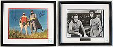 TWO AUTOGRAPHED PHOTOGRAPHS: William Shatner