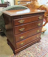 CHIPPENDALE STYLE MAHOGANY BACHELOR'S CHEST,