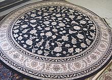 NEW ROUND KARASTAN CARPET, Persian Renaissance