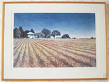 MIKE PEASE COLOR LITHOGRAPH (Eugene, Oregon,