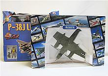TWO MODEL AIRCRAFT: Ultimate Soldier P-38