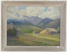 CHARLES S. GORDON OIL ON BOARD (Portland, Oregon,