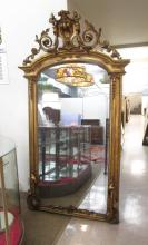 VICTORIAN GILTWOOD AND GESSO PIER MIRROR, American
