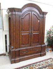 LARGE MEDIA ARMOIRE ON BASE, Stanley Furniture Co.