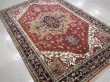 HAND KNOTTED ORIENTAL CARPET, Persian Serapi desig