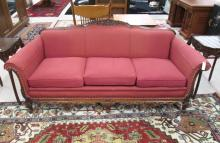LOUIS XV STYLE SOFA, American, c. 1920s, featuring