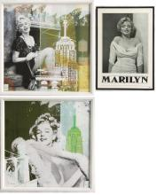 THREE MARILYN MONROE PRINTS:  two by Gery Luger