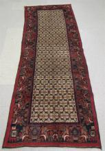 PERSIAN HALL RUG, hand knotted, 3'4