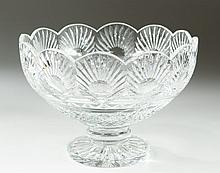 WATERFORD CRYSTAL DESIGNER STUDIO BOWL in a palm
