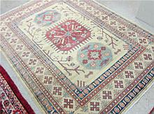 HAND KNOTTED ORIENTAL AREA RUG,