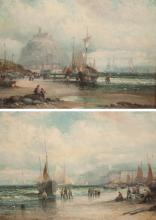 WILLIAM ANSLOW THORNLEY, TWO OILS ON PANEL (Englan