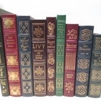 TWENTY LEATHER BOUND BOOKS BY EASTON PRESS.  Title