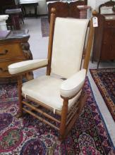 COMMEMORATIVE 'KENNEDY' ROCKING CHAIR, Lawrence  J