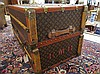 Image 20 for VINTAGE LOUIS VUITTON WARDROBE TRUNK, French,