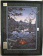 STEPHEN LYMAN COLOR LITHOGRAPH (Oklahoma,, Stephen Lyman, Click for value