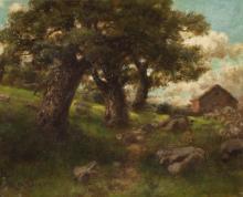 ROBERT MELVIN DECKER OIL ON CANVAS (New York, 1847