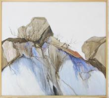 JOAN METCALF ACRYLIC ON CANVAS (Oregon, b. 1934) L