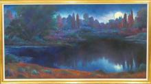 SONJA TERVO OIL ON CANVAS (United States, 1952-201