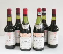 SIX BOTTLES OF VINTAGE FRENCH RED WINE:  two bottl